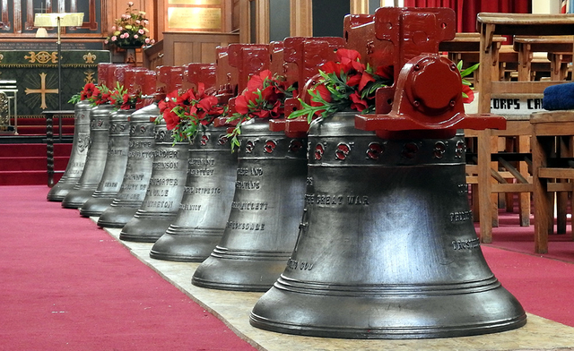 Bells at St George, Ypres (Belgium)